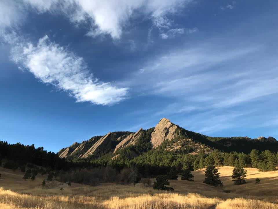 Practice yoga in beautiful Boulder, Colorado!