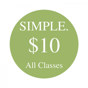 All classes on the schedule are only $10 at awake BOULDER Yoga!