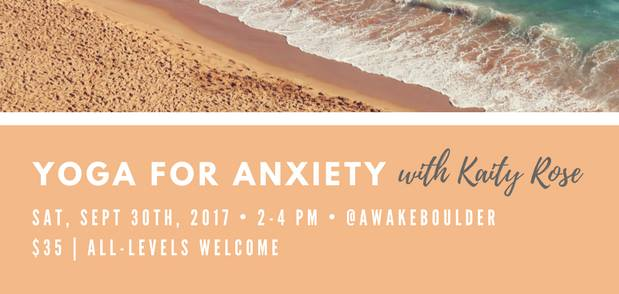Yoga For Anxiety: Rediscover Peace of Mind