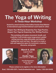 The Yoga of Writing